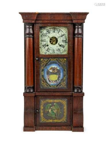 A Seth Thomas Shelf Clock 19TH CENTURY Heig