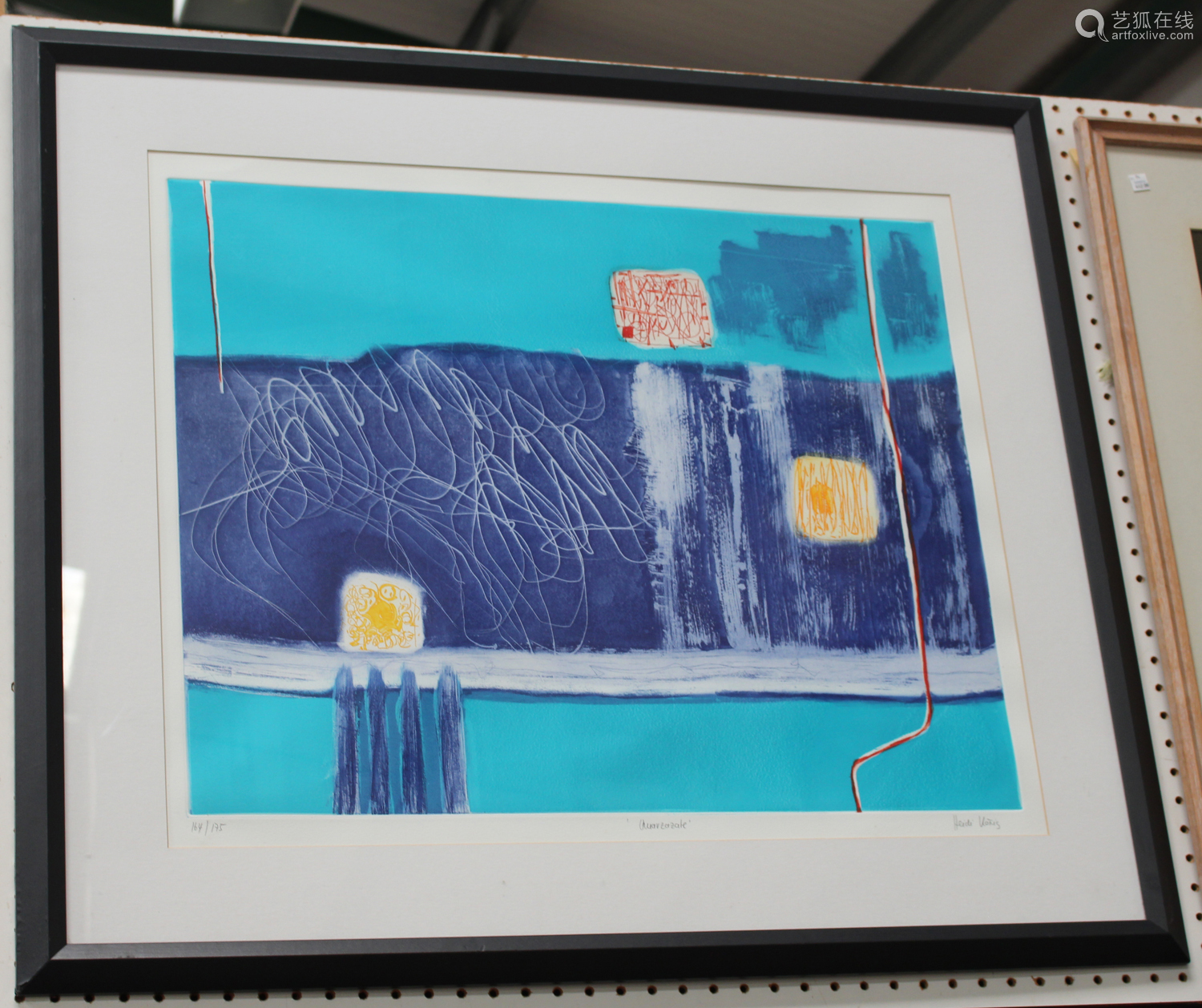 Heidi Koenig - 'Ouarzazate', 21st century colour etching with aquatint, signed, titled, and