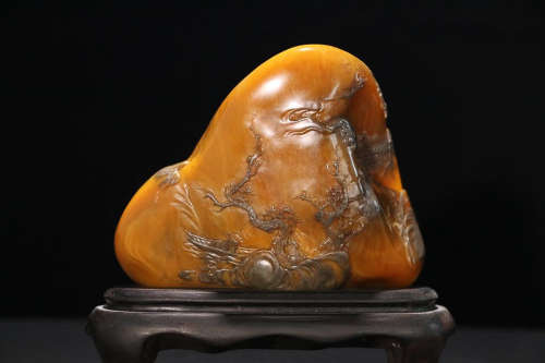 TIANHUANG STONE CARVERING ORNAMENT