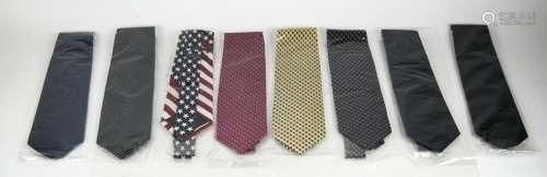 Lot of 8 Assorted Silk Neckties