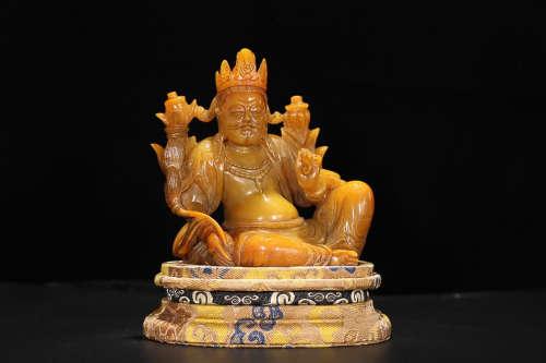 TIANHUANG STONE TIBETAN BUDDHA
