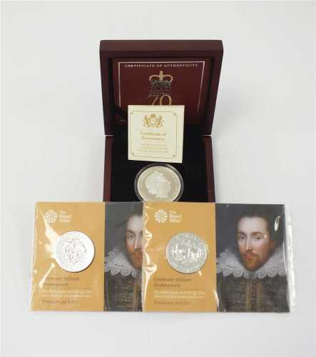 Jersey, The Prince Philip 70 years of service silver proof £5 coin