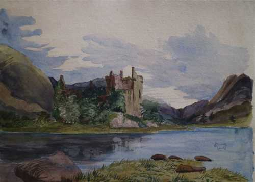 Mid 19th Century Sketchbooks and Watercolours of Scotland, John and E.A. Gibson