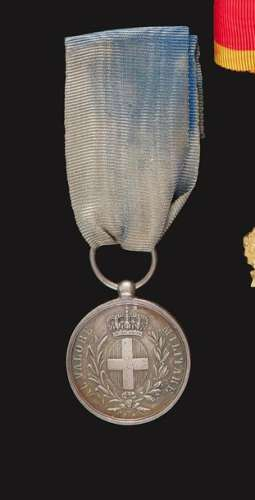 VALEUR MILITAIRE SARDE Médaille de la valeur milit…