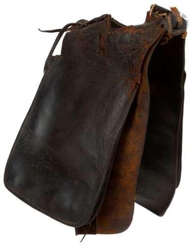 Paire de sacoches pour encolure de cheval en cuir …