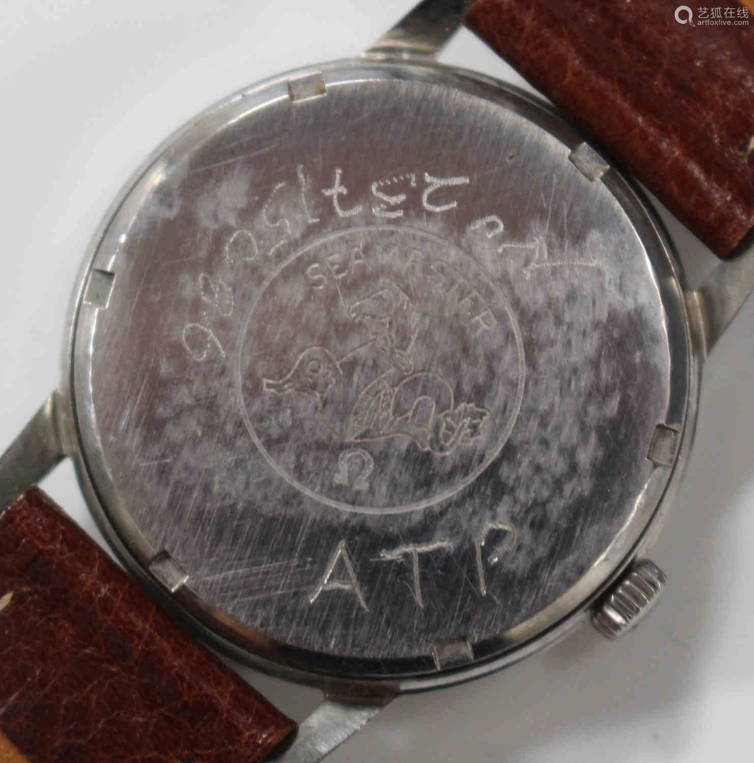 An Omega Seamaster 600 stainless steel cased gentleman's wristwatch, circa 1966, the signed jewelled