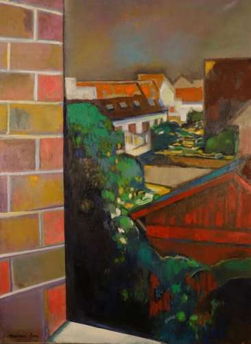 Maurice GENIS (Saigon 1925 Lacanau 2013). Fenêtre …