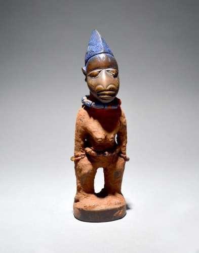 A Yoruba female Ibeji figure Ibeju/Egba borderland…