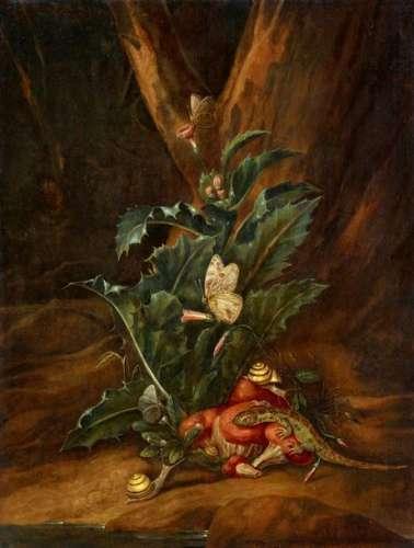 Carl Wilhelm de Hamilton, Forest Floor with a This…