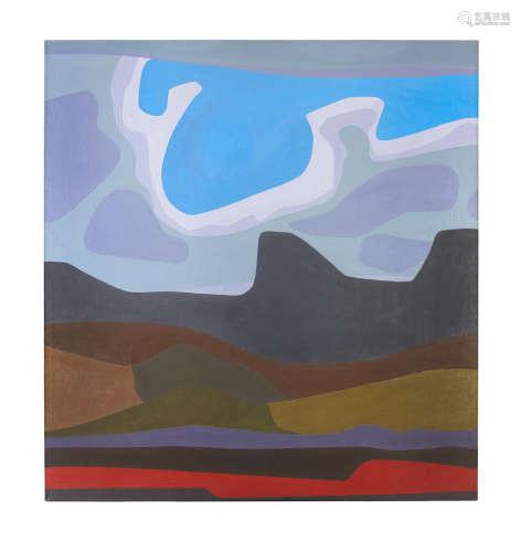 'Turbulent Sky' Erik(Frederik Bester Howard) Laubscher (South African, 1927-2013)