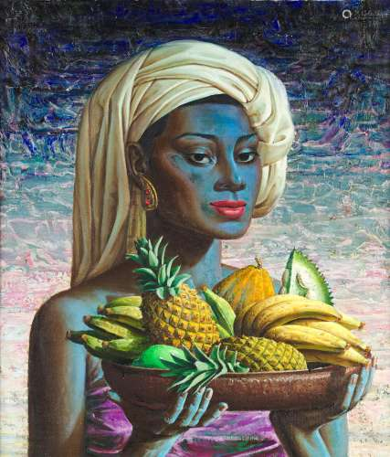 Fruits of Bali Vladimir Griegorovich Tretchikoff(South African, 1913-2006)