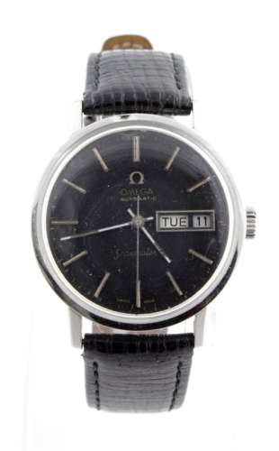 Gents stainless steel cased Omega seamaster automatic wristwatch (issued to the Pakistani Air