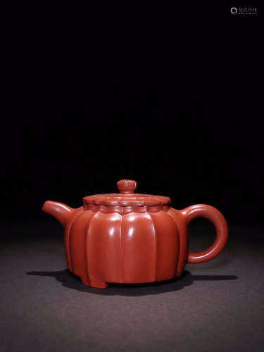 ZISHA TEAPOT WITH WANG-SHIGENG MARK
