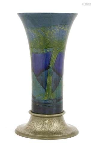 A Moorcroft 'Moonlit Blue' vase,