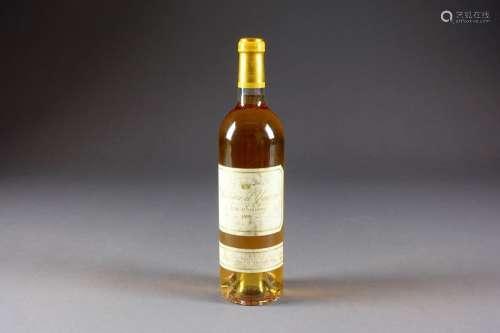 Château d'Yquem 1999. (1 bouteille). Premier cru s…
