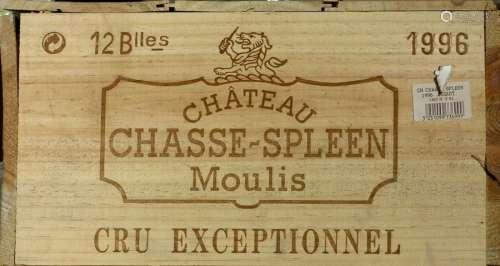 Château Chasse Spleen 1995. (12 bouteilles). Cru b…