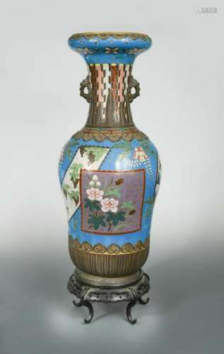 Attributed to Christopher Dresser for Minton, a large