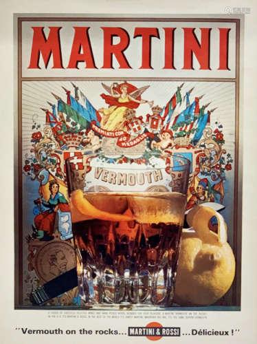 Vintage Martini Ad