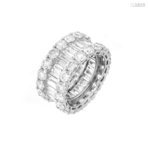 Diamond and Platinum Eternity Band.
