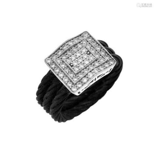 Philippe Charriol Diamond and 18K Ring