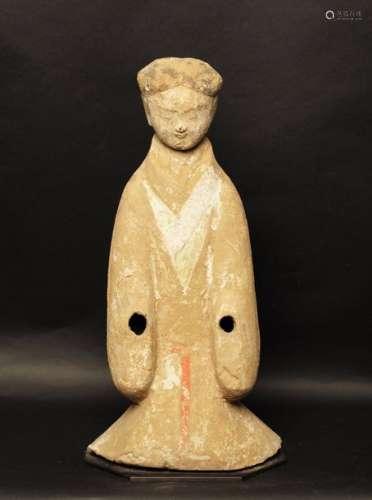 Porteur de palanquin, avec tête amovible, portant …