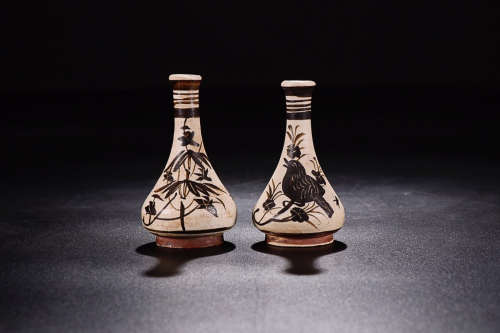 JIZHOU YAO VASE IN PAIR