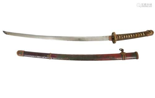 Minty Gunto Mounted Manchurian Railway Sword