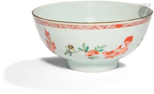CHINE Époque KANGXI (1662 1722) Bol en porcelaine …