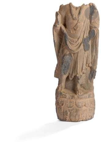 INDE GANDHARA, art gréco bouddhique, IIe / IVe siè…