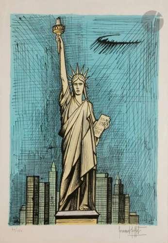 Bernard BUFFET (1928 1999) La Statue de la Liberté…