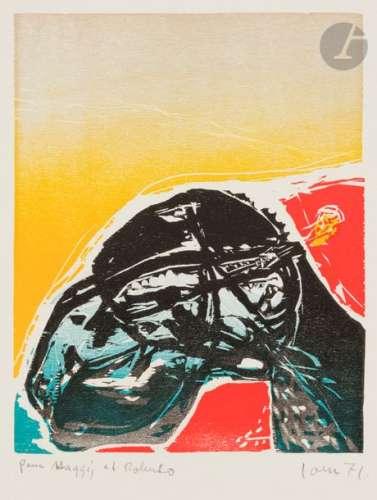 Asger JORN [danois] (1914 1973) Composition, 1971 …