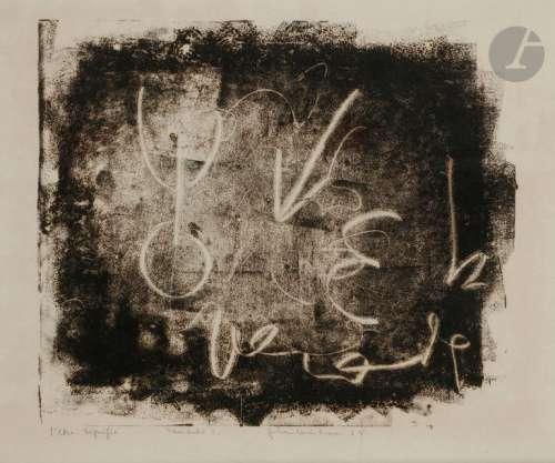 Jean Louis BRAU (1930 1985) L'Être signifié, 1967 …
