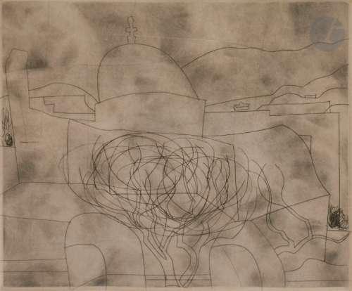 Ben NICHOLSON [anglais] (1894 1982) Storm over Par…