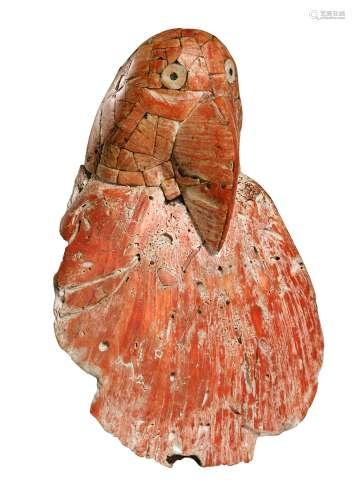 Sculpture aviforme en coquillage<br />Culture Wari<br />700-1000 AP. J.-C.