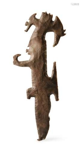 Excentrique en silex <br />Culture Maya<br />Classique Récent, 550-950 AP. J.-C.