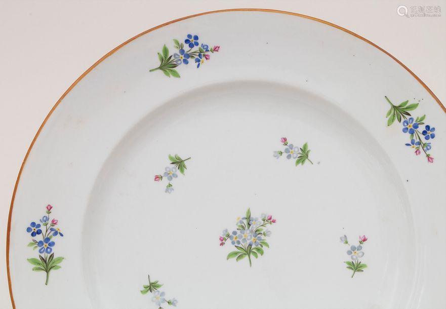 Speiseteller 'Vergissmeinnicht' / A plate 'Forgetm…