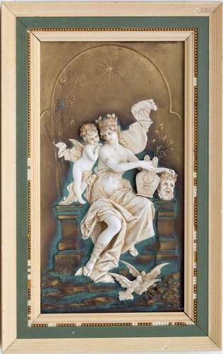 Bildrelief 'Judith mit dem Kopf des Holofernes' / …