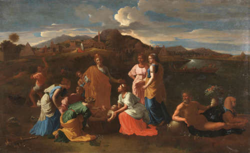 After Nicolas Poussin18th Century The Finding of Moses