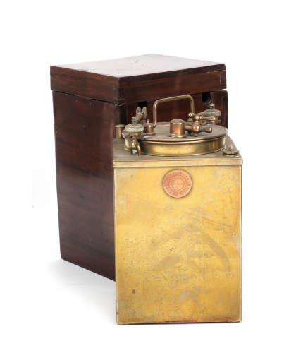 A large Besnard model 586 acetylene generator, French,