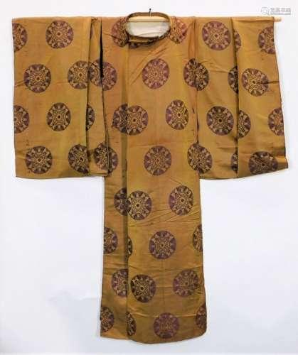 C.1830 Japanese Edo Period Kariginu No Costume