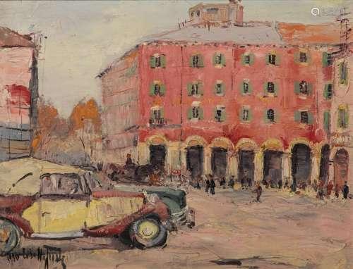 Estelle JUSTE (1894 1962) \nNICE, PLACE MASSENA, 19…