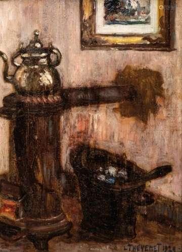 Louis THEVENET (Bruges, 1874 Hal, 1930) \nLE POÊLE,…