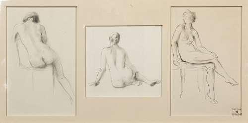 Alice KEELHOFF (1896 1983) \nÉTUDES DE NUS, 1995 \nT…