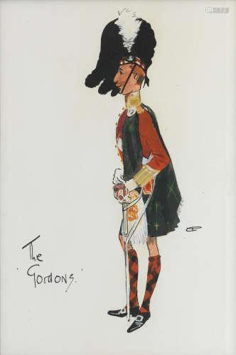 Charlie Johnson Payne, 'Snaffles'(British, 1884-1967) The Gordons