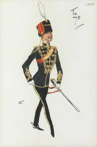 Charlie Johnson Payne, 'Snaffles'(British, 1884-1967) The 7th