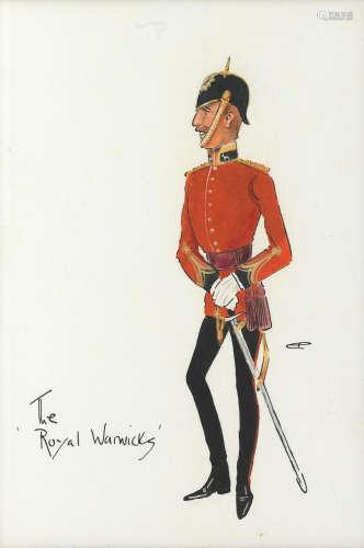 Charlie Johnson Payne, 'Snaffles'(British, 1884-1967) The Royal Warwicks