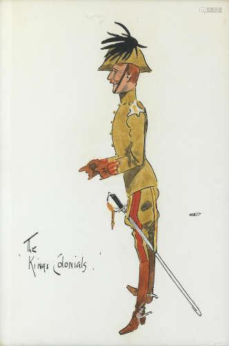 Charlie Johnson Payne, 'Snaffles'(British, 1884-1967) The Kings Colonials