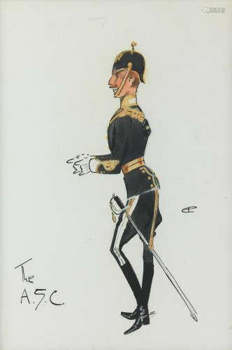 Charlie Johnson Payne, 'Snaffles'(British, 1884-1967) The ASC