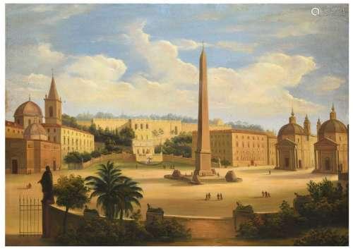 Ecole Romaine vers 1850