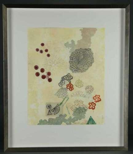 Three Prints incl. Diane Cionni. Serigraph, etc.
